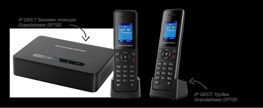 Мощная DECT VoIP базовая станция. 10 SIP аккаунтов на систему и 10 линий на трубку